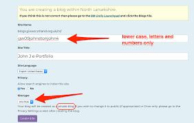 creating a new e portfolio glow blog help create an e portfolio click to see full sized