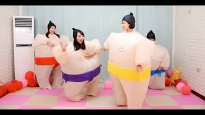 <b>Inflatable Sumo Costume</b> Halloween <b>Christmas</b> Festival Party Carnival
