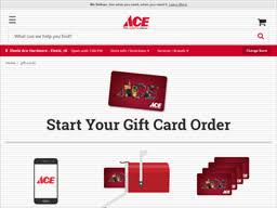 Ace Hardware   Gift Card Balance Check   Balance Enquiry, Links ...