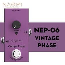 <b>Naomi</b> guitar effect pedal true bypass design #<b>nep</b>-<b>06</b> dc 9v mini ...
