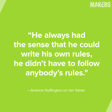 10 Father's Day Quotes From Fathers of MAKERS | MAKERS