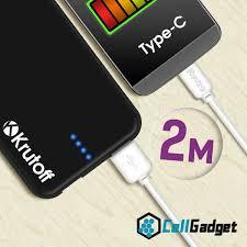 Купить Кабель <b>Krutoff</b> Classic <b>USB Type</b>-<b>C</b> 2m (Белый) в ...