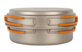 <b>Титановая кастрюля NZ</b> TS-016 Titanium Cookware 950 ml.