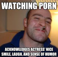 Watching porn Acknowledges Actress' nice smile, laugh, and sense ... via Relatably.com