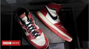 <b>Michael Jordan</b>: Rare trainers fetch $615,000 at auction - BBC News
