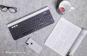 <b>Logitech K780 Multi</b>-<b>Device</b> для любых устройств - Ferralabs