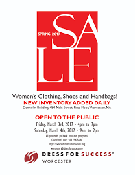 spring dress for success worcester dress for success worcester 2017 spring public flyer 01