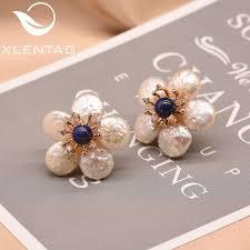 2019 <b>XlentAg Natural</b> Fresh Water <b>Baroque Pearl</b> Lapis Lazuli ...
