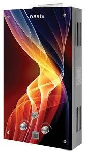 Проточный газовый <b>водонагреватель Oasis</b> Glass <b>24RG</b> ...