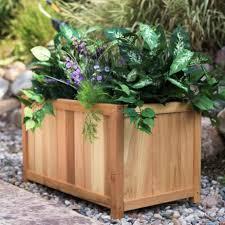 large garden planters outdoor decor  adorable large outdoor planter boxes as garden decoration extraordina