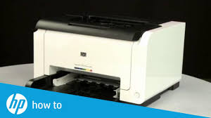 Fixing Paper Pick-Up Issues | <b>HP LaserJet Pro</b> CP1025nw <b>Color</b> ...