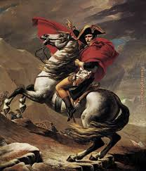 what can spielberg learn about napoleon from art art and design jacques louis david saw him as a r emperor bestriding the alps in a painting that emulates classical equestrian statues
