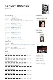 makeup artist resume samples   visualcv resume samples databasemakeup artist resume samples