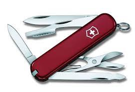 """<b>Нож перочинный Victorinox</b> """"<b>Executive</b>"""", цвет: красный, 10 ..."""