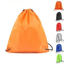 String Drawstring Back Pack <b>Cinch Sack</b> Gym Tote Bag School ...