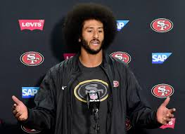 police union threatens security boycott over colin kaepernick s police union threatens security boycott over colin kaepernick s protest cbs news