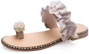 Naimo Women's Pearl Pineapple Rhinestone Sandals ... - Amazon.com