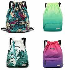 <b>GymSack Drawstring Bag Sackpack</b> Geometry <b>Graphic</b> Sport <b>Cinch</b> ...