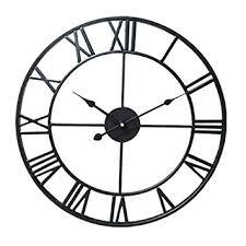 Simple <b>Roman Numerals</b> Wall Clock, Cherry-Lee Atmospheric ...