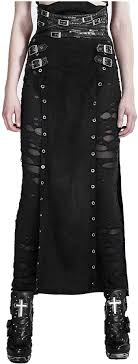 Punk Rave Women's Black Gothic Punk Vintage Retro ... - Amazon.com