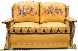 artists at the western design conference incorporated native american elements into their pieces like this american furniture patterns