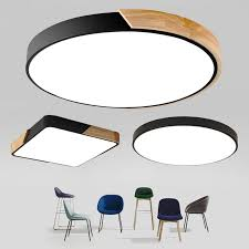 <b>Ultra thin</b> LED 5cm Ceiling Light <b>Modern Ceiling Lamp</b> Surface ...