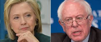 Image result for sanders clinton