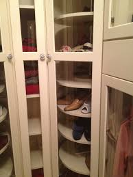 kitchen solution traditional closet: pretty lazy susans in traditional eanf with closet gun safe next to shoe closet alongside corner