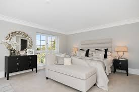 bedroom decorating ideas with black furniture bedroom transitional with white cornice show home bedding for black furniture
