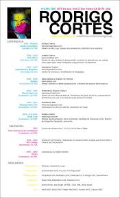 40 smart and creative resume and cv design ideas resume espanol by rogaziano resume espanol by rogaziano