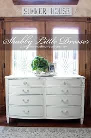 the perfect style dresser for a shabby little makeover chalk paint furniture