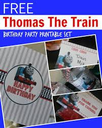 thomas the train engine birthday party printables passion thomas the train engine birthday party printable set
