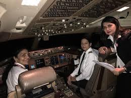 Meet the all-<b>women</b> crew: Air India's <b>women</b> pilots <b>flying high</b> ...