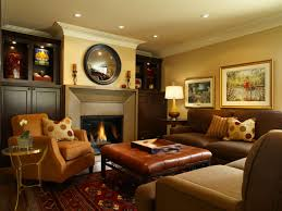 calming brown family room furniture with white lighting pluss wall art paintings decor awesome family room lighting