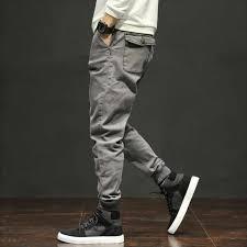 <b>Autumn Fashion Classical Men</b> Jeans Jogger Pants Gray Color Multi ...