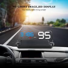 <b>HUD Head</b> Up Display Car GPS Speedometer Windshield Projector ...