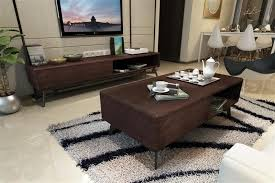 simple and stylish coffee table small apartment furniture living room tv cabinet black walnut tea teasideend apartments furniture