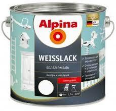 <b>Эмаль алкидная</b> Alpina <b>Эмаль универсальная</b> шелковисто ...