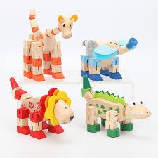 2019 Hot Sale Baby Wooden Toy Animal <b>Elephant Lion Giraffe</b> ...