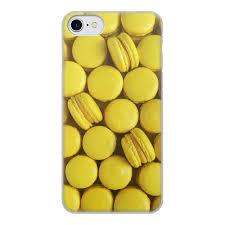 """Чехол для iPhone 7, объёмная печать """"<b>пирожное макаронс</b> ..."""