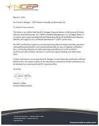 nicep letter of good standing reap florida retirement and nicep letter 2015