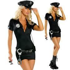 <b>Sexy</b> Female Cop Police Officer Uniform Policewomen Costume ...