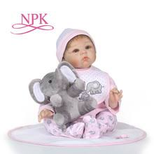 g324 npkdoll 55cm soft silicone reborn baby dolls realistic doll 22 inch full vinyl boneca bebe for boys