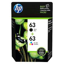 <b>HP</b> 63 <b>2pk</b> Ink Cartridges - Black, Tri-color (L0R46AN_140) : Target