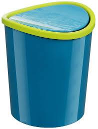 <b>Контейнер для мусора</b> М-пластика <b>настольный</b> 1,6л бирюзовый ...