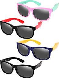4 Pieces Toddler Sunglasses Polarized Sunglasses ... - Amazon.com