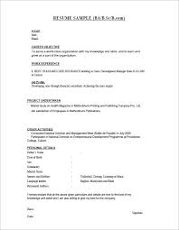 28 resume templates for freshers free samples examples bsc fresher freshers resume formats