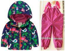 <b>Retail</b> windproof suit spring and autumn boy <b>Topolino</b> (Jacket + Bib ...