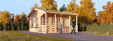 oak log cabins: log cabin royal m x m  x  mm