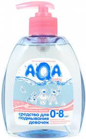 <b>Средство для</b> подмывания девочек <b>AQA baby</b> 300 мл - купить в ...